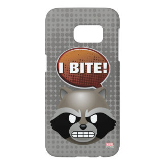 """I Bite"" Rocket Emoji Samsung Galaxy S7 Case"
