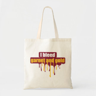 I bleed garnet and gold... tote bag