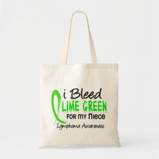 I Bleed Lime Green For My Niece Lymphoma