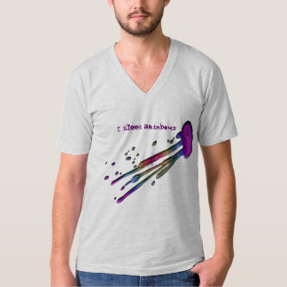 """I Bleed Rainbows"" Splash T-Shirt"