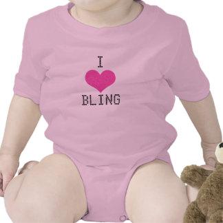 I ❤️Bling Girl Onsie T Shirt