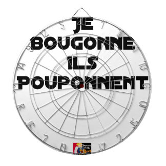 I BOUGONNE, THEY POUPONNENT - Word games Dartboard