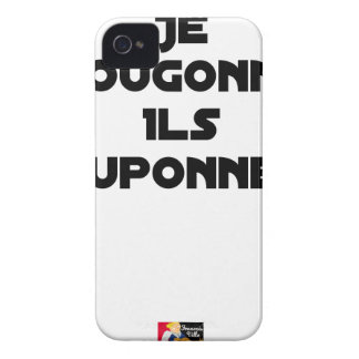 I BOUGONNE, THEY POUPONNENT - Word games iPhone 4 Cover