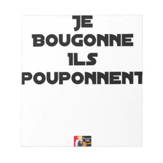 I BOUGONNE, THEY POUPONNENT - Word games Notepad