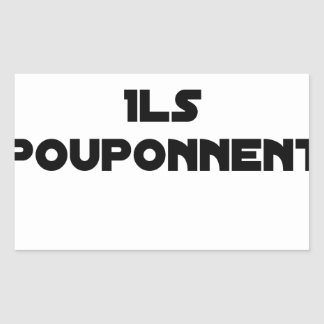 I BOUGONNE, THEY POUPONNENT - Word games Sticker