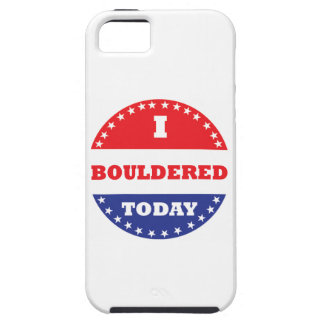 I Bouldered Today iPhone 5 Cover