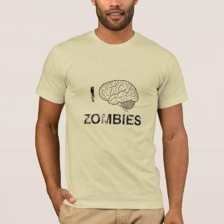 I (brain) love zombies T-Shirt