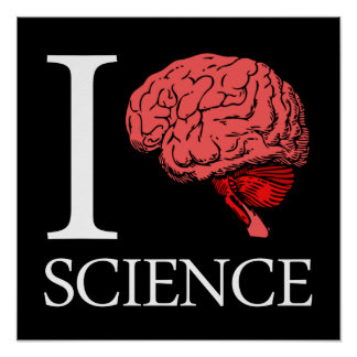 I Brain Science (I Know Science) (I Love Science) Poster