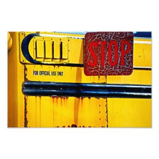 I Brake For Color. Photo Print
