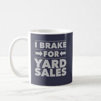 I Brake For Yard Sales Mug