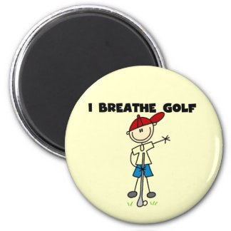 I Breathe Golf Magnet
