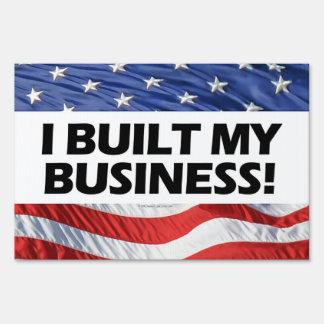 I Built My Business, Pro-Capitalism, Anti-Obama