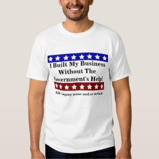 I built my Business T Shirt