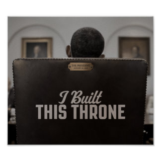 I Built This Throne: The Empty Chair Speaks Poster