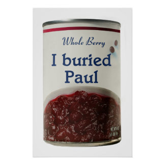 I Buried Paul poster