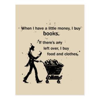 I Buy Books Postcard