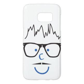 """I C U"" Nerd Guy Samsung Galaxy S7 Case"