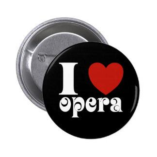 I cadeau d'amants d'opéra de coeur macaron rond 5 cm