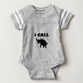 i call it bull strength baby bodysuit