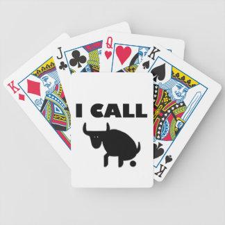 i call it bull strength poker deck