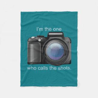 I Call the Shots Fleece Blanket