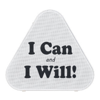 I Can and I Will Speaker