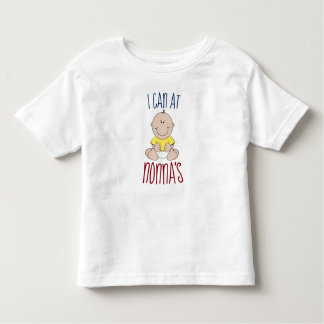 I Can At Nonna's Toddler T-Shirt