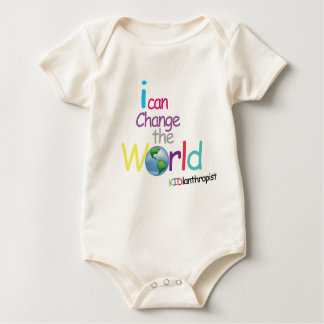 i can change the world baby bodysuit