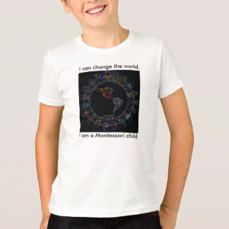 I can change the world! Children's Ringer Tee