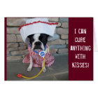 I can cure anything with kisses! GET WELL SOON Card