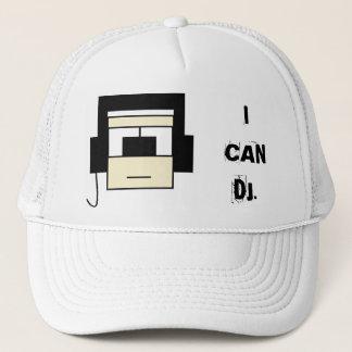 'I CAN DJ' HAT! TRUCKER HAT