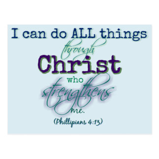 I can do all things - Post Card