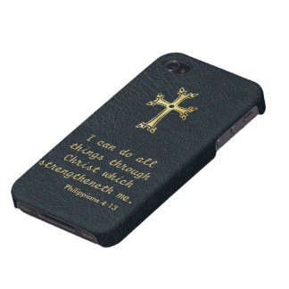 I can do all things through Christ iPhone 4/4S Case