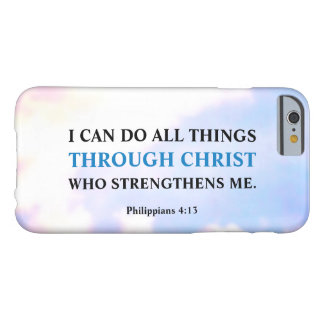 I Can Do All Things Through Christ iPhone 6 Case