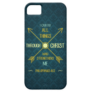 I Can Do All Things Through Christ Philippians 4 iPhone 5 Cover