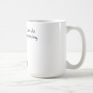 I can do anything. classic white coffee mug