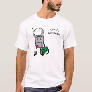 """I can do anything"" T-Shirt"