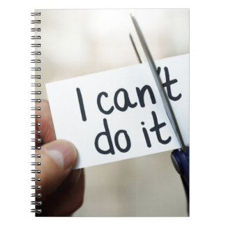 I can do it notebook