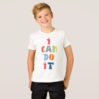 """I Can Do It"" T-Shirt"