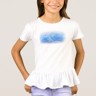 I Can Fly In Video Games Ruffle Shirt