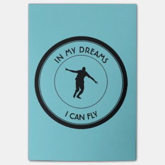 I CAN FLY POST-IT NOTES