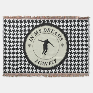 I CAN FLY THROW BLANKET