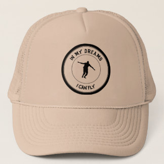 I CAN FLY TRUCKER HAT