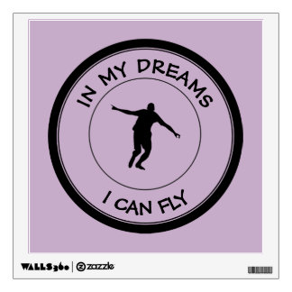 I CAN FLY WALL DECAL