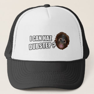 I CAN HAZ DUBSTEP? LOLz Dub Step Meme Trucker Hat