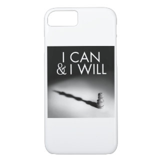 I CAN & I WILL phone case