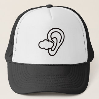 I can not hear you sign trucker hat