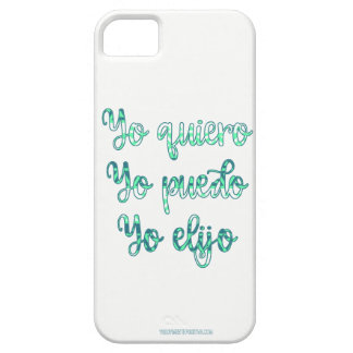 I can - positive Phrase - Phrase of motivation iPhone 5 Covers