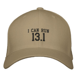 I can run 13.1 -- Can you? Embroidered Hat