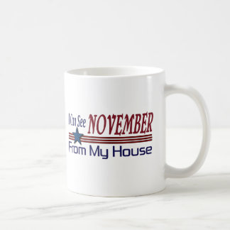 I Can See November From My House Coffee Mug